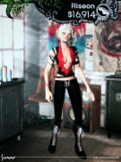 Rock Band - Riseon - Devil Outfit