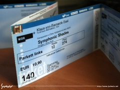 Tickets to the Symphonic Shades concert
